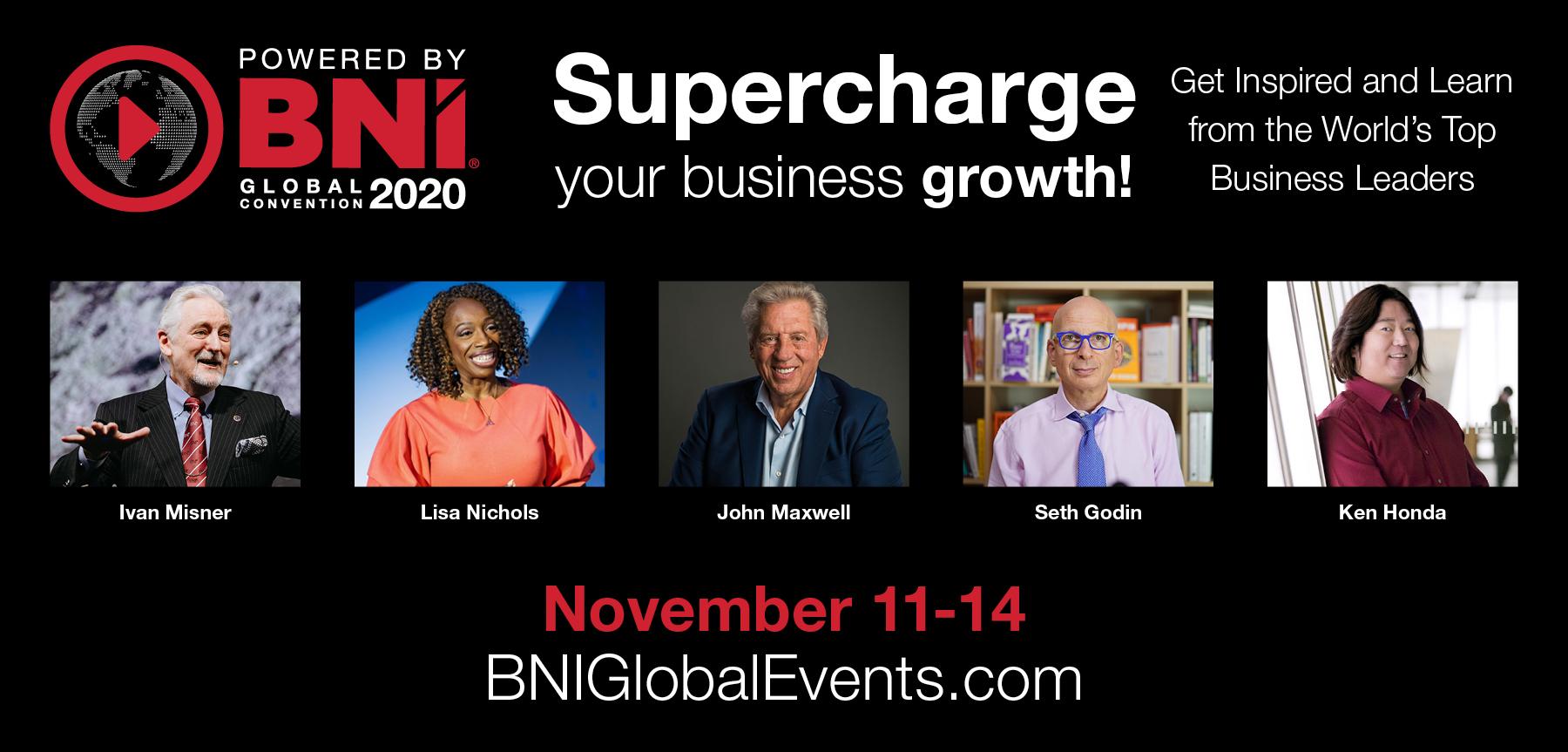 BNI Global Convention 2020 Goes Virtual!